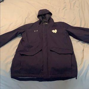 Like new Notre Dame wind/rain shell jacket
